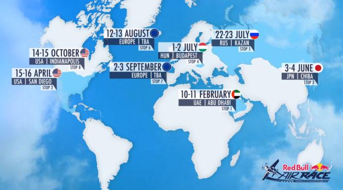 Red Bull Air Race Calender 2017