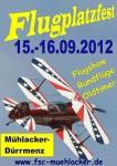 Flugplatzfest Mühlacker 15.09. -16.09.2012
