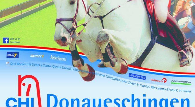 60. S.D. Fürst Joachim zu Fürstenberg-Gedächtnisturnier in Donaueschingen 15.09. – 18.09.2016