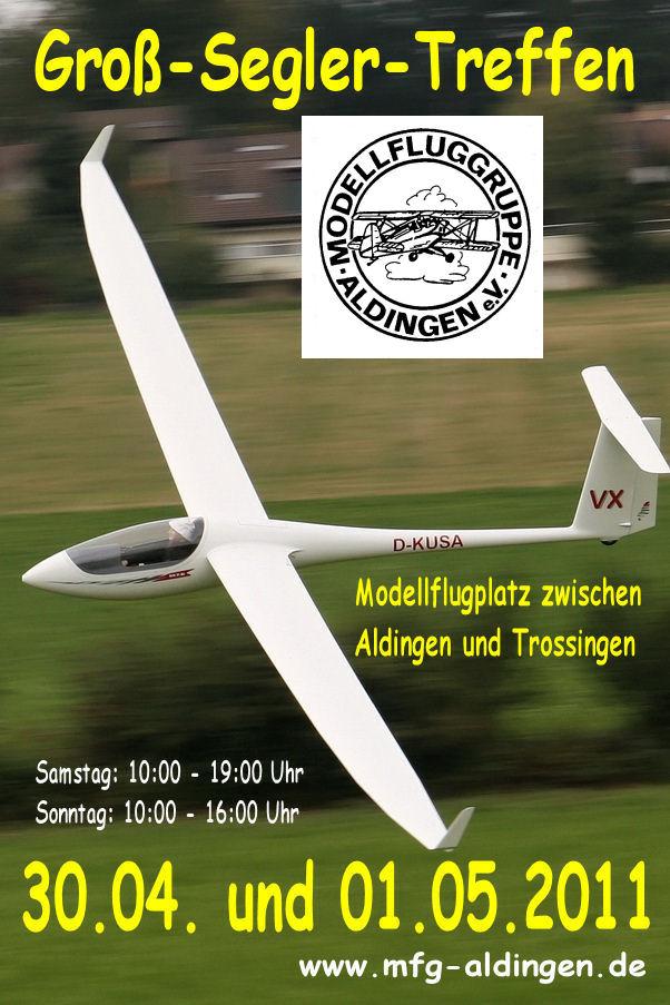 Großseglertreffen der Modellfluggruppe Aldingen e.V.