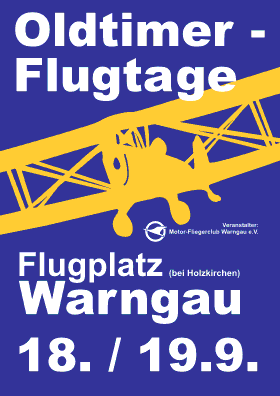Oldtimer Flugtage Warngau 18.09. - 19.09.2010