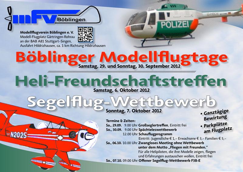 Böblinger Modellflugtage 2012