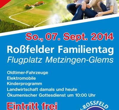 Roßfelder Familientag 07. 09.2014