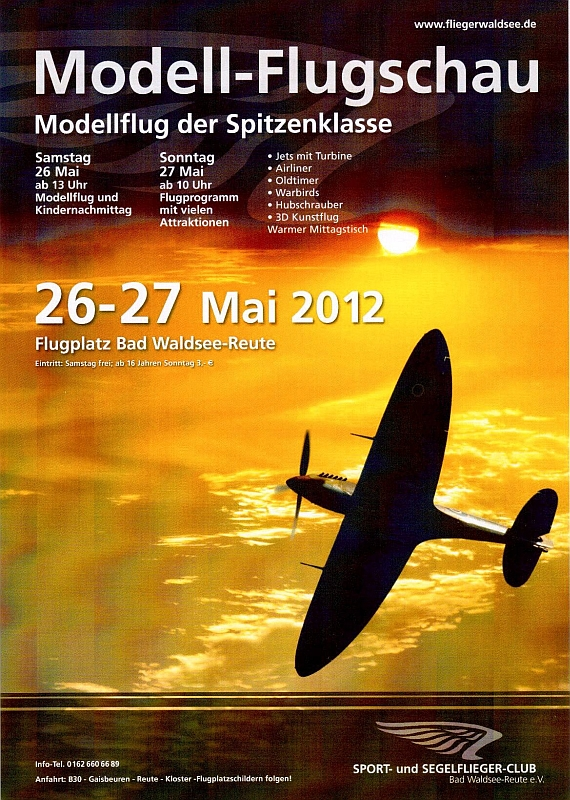 SSC Modellflug 2012
