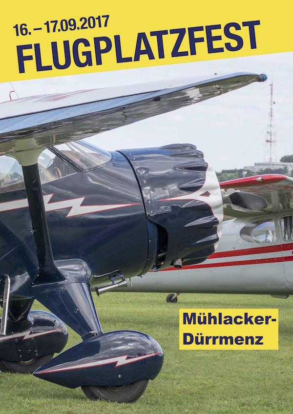 22. Flugplatzfest am 16. und 17. September 2017