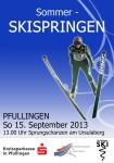 Sommer-Skispringen Pfullingen 2013