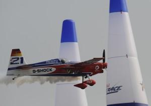 Matthias Dolderer beim 4. Training Foto (C) Tom Lovelock/Red Bull Air Race via AP Images