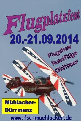 Flugplatzfest Mühlacker 2014