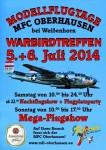 7. Warbirdtreffen / Flugtag MFC-Oberhausen e.V. 05.07. – 06.07.2014