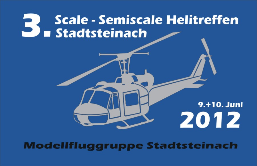 3. Scale- Semi-Scale Helicopter Meeting 2012 in Stadtsteinach