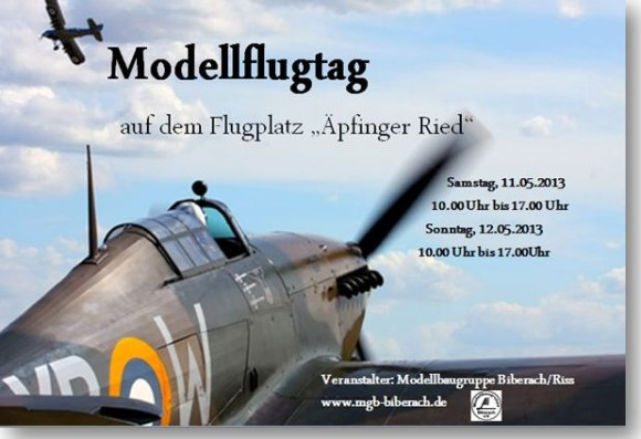 Modellflugtag Biberach 2013