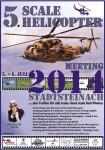 5. Scale Heli Meeting Stadtsteinach 05.07. – 06.07.2014
