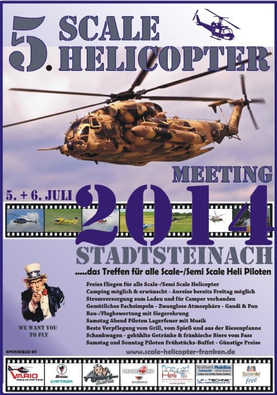 5. Scale Heli Meeting Stadtsteinach 2014