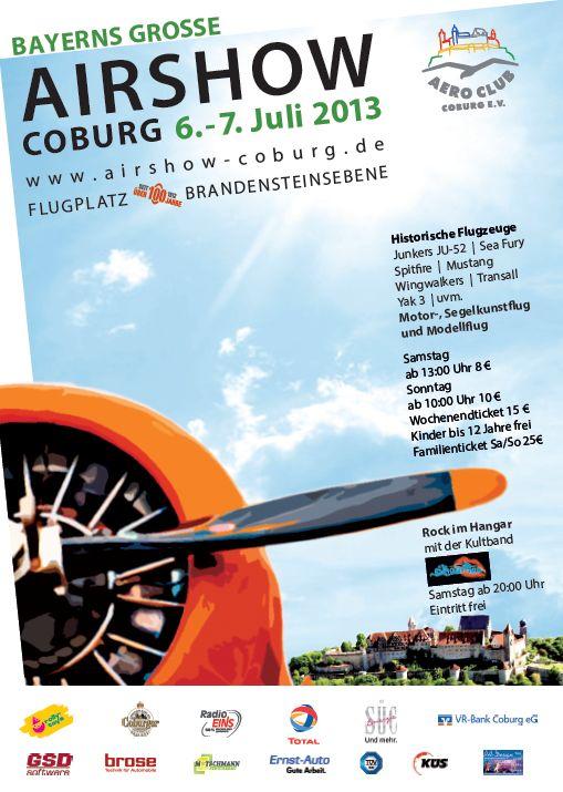 Airshow Aero-Club Coburg e. V. 2013