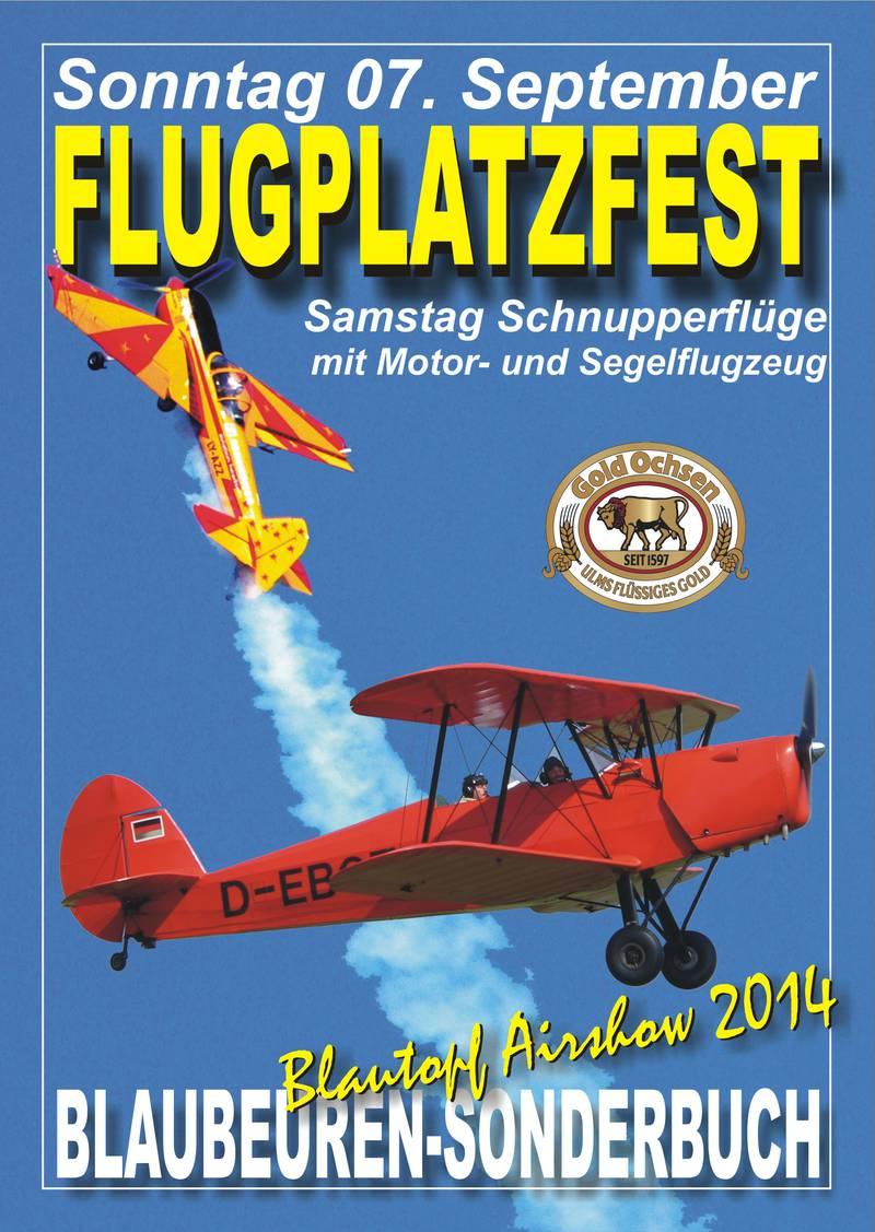 Flugplatzfest Blaubeuren 2014