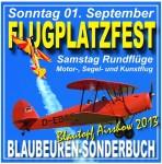 Flugplatzfest Blaubeuren 01.09.2013