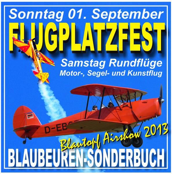 Flugplatzfest Blaubeuren 2013