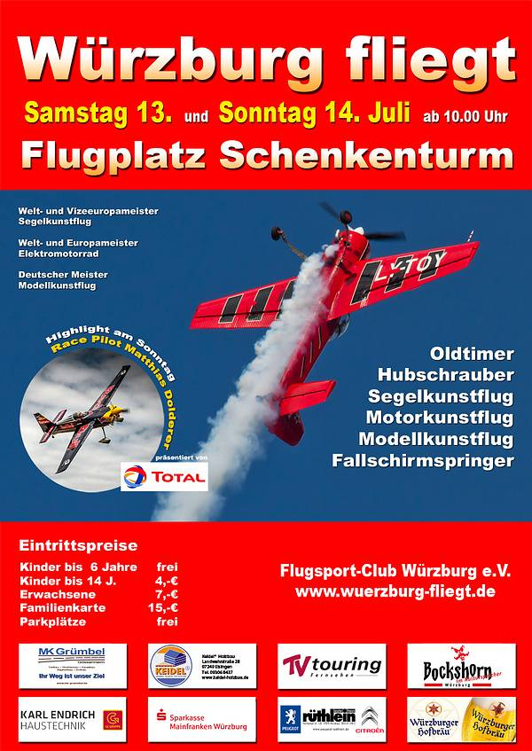 Würzburg fliegt 2013