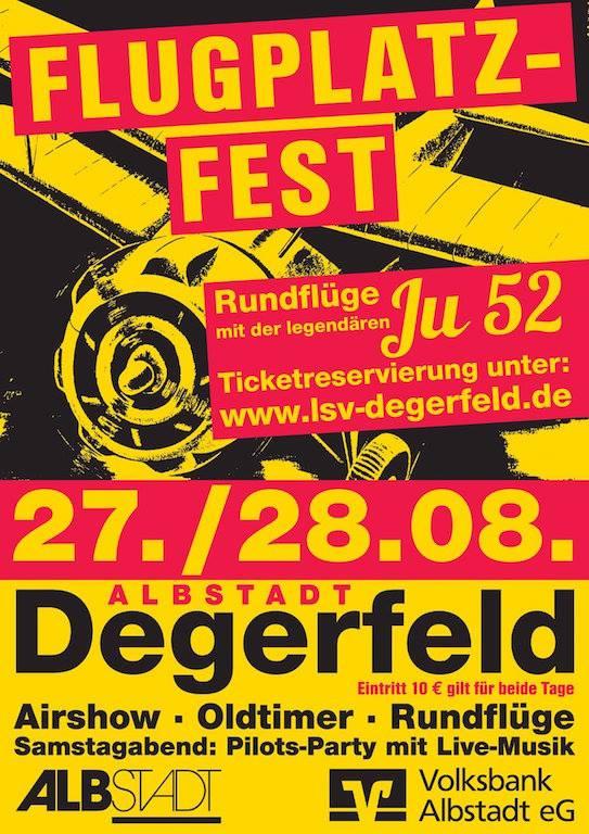 Flugplatzfest Degerfeld 2016