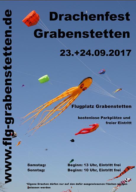 Drachenfest Grabenstetten 23. und 24. September 2017.