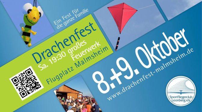 23. Drachenfest Malmsheim 08.10 – 09.10.2016