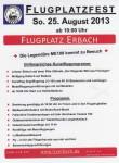 Flugplatzfest Luftsportverein Erbach e.V. 25.08.2013