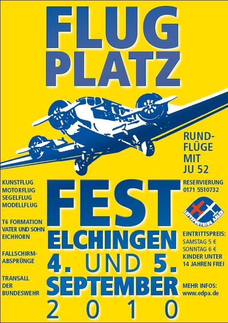 Flugplatzfest Elchingen 04.09. - 05.09.2010