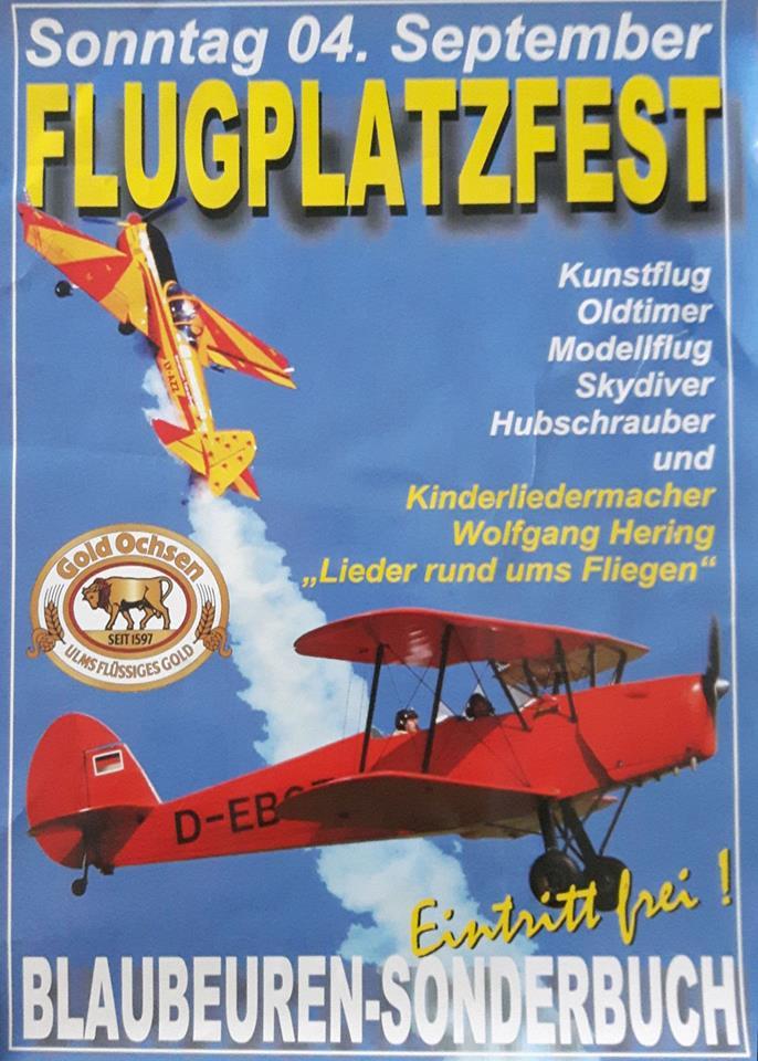 Flugplatzfest Blaubeuren 2016