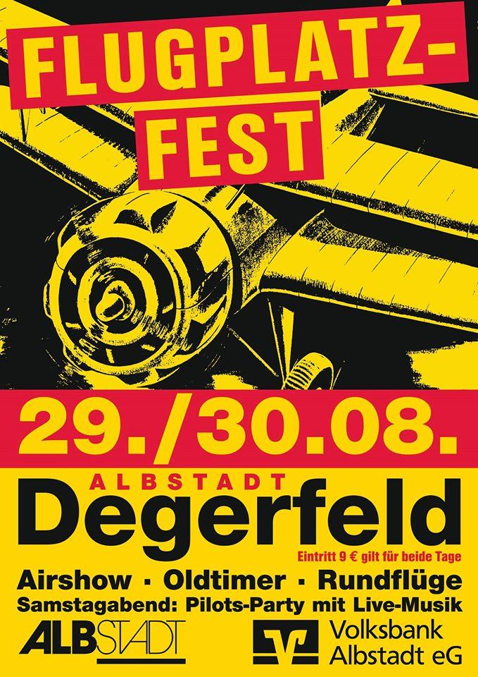 Flugplatzfest Degerfeld 2015