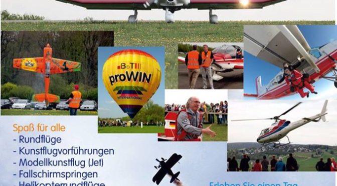 Flugplatzfest Fliegergruppe Giengen/Brenz e.V. 19.06.2016