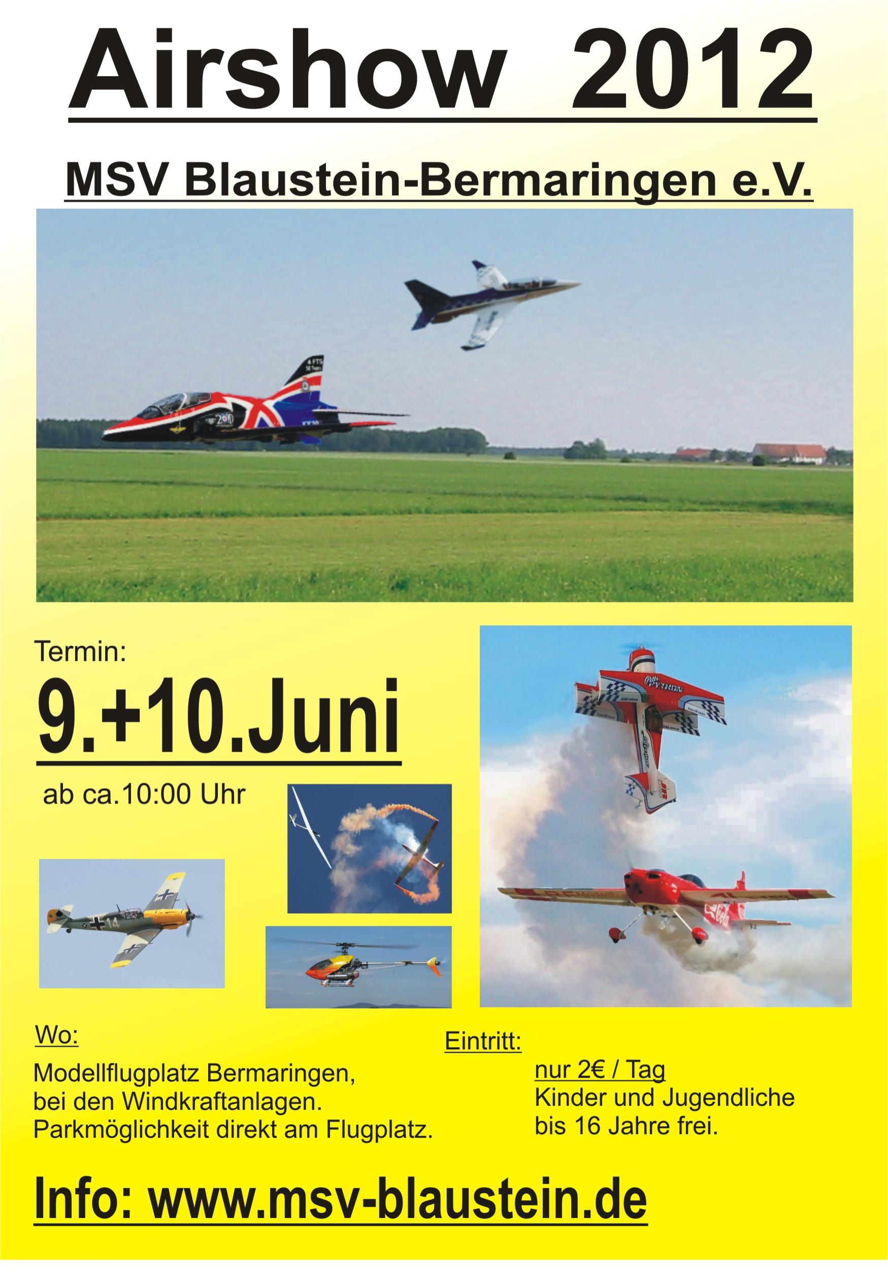 Airshow Blaustein-Bermaringen 2012
