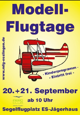 Modellflugtage Esslingen 2014