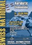 Kunstflug-Schweizermeisterschaft, Final- u. Festtag mit Pat's Bigband Flugplatz Fricktal-Schupfart 21.06. – 26.06.2010
