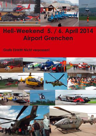 7. Heli-Weekend Flughafen Grenchen 2014