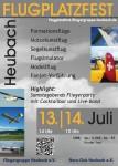 Flugplatzfest Fliegergruppe Heubach e.V. 13.07. – 14.07.2013