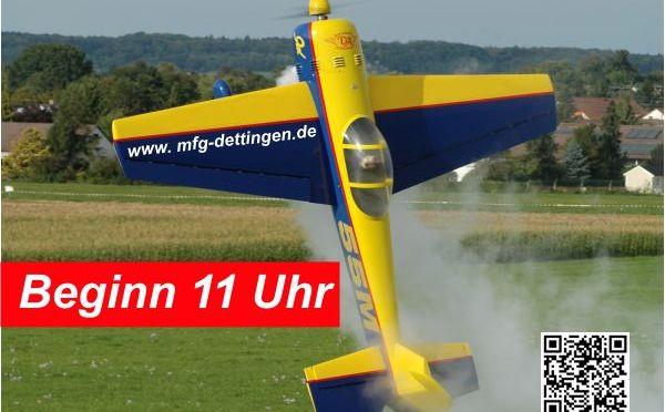 Modellflugtag Dettingen 2014
