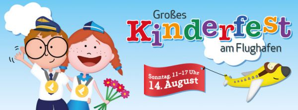 Großes Kinderfest am Flughafen Stuttgart