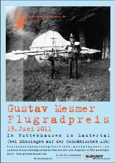 5. Gustav-Mesmer-Flugradpreis 2011