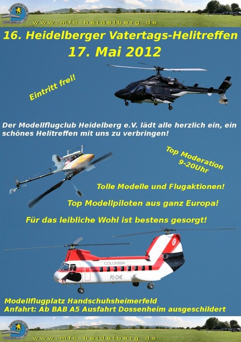 16. Heidelberger Vatertags-Helitreffen 2012