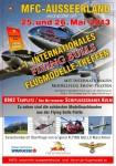 1. Internationales Treffen für Modellnachbauten der  FLYING BULLS  MFC-Ausseerland 25.05. – 26.05.2013
