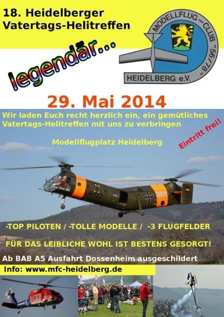 18. Heidelberger Vatertags-Helitreffen 2014