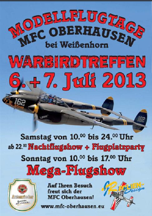 6. Warbirdtreffen/Flugtag 2013