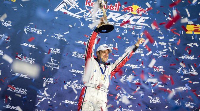 Starke Winde führen zum Rennabbruch beim Red Bull Air Race in Las Vegas  Matthias Dolderer wird als Weltmeister gekürt