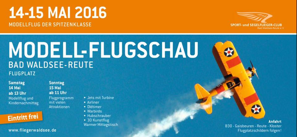 Modell-Flugschau Bad Waldsee-Reute 2016