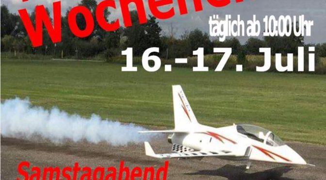 Modellflugtage MSV-Oberhausen-Rheinhausen 2016
