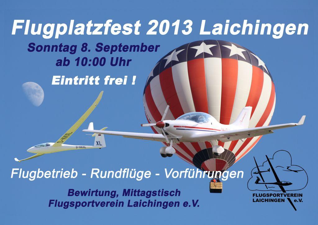 Flugplatzfest Laichingen 2013