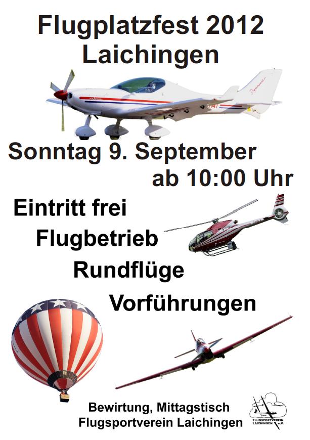 Flugplatzfest Laichingen 2012