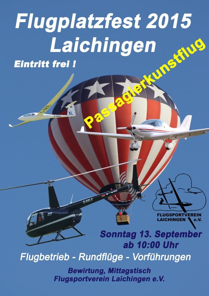 Flugplatzfest Laichingen 13.09.2015