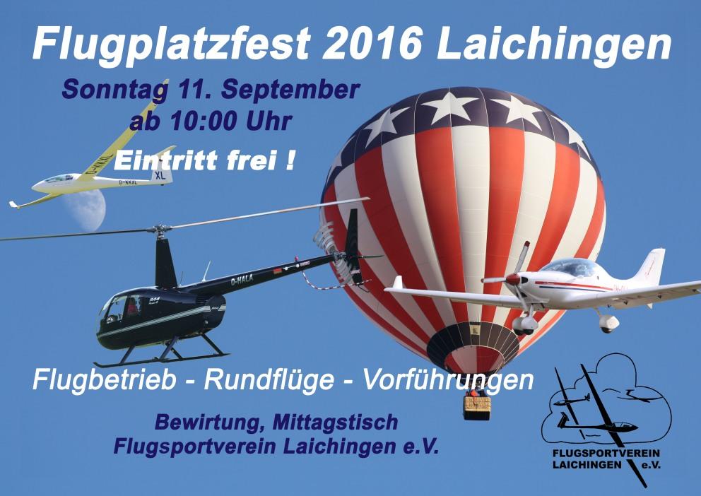 Flugplatzfest Laichingen 2016