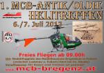 1. MCB Antik/Oldie Hubschraubertreffen 06.07. – 07.07.2013